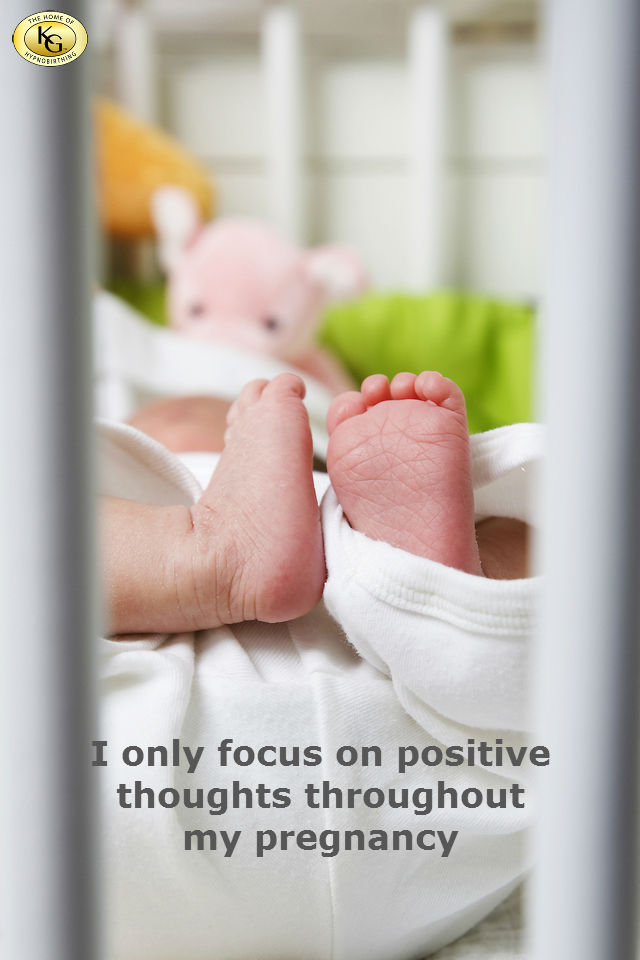 hypnobirthing affirmation - positive thoughts